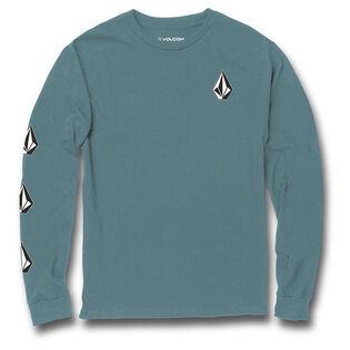 Junior Boys' [8-16] Iconic Stone Long Sleeve T-Shirt