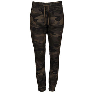Women's Camo Stretch Twill Jogger Pant