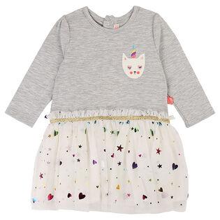 Robe en jersey et en tulle pour bébés filles [12-24M]