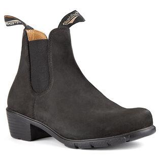 #1960 Women's Series Heeled Boot In Black Nubuck