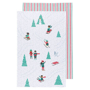 Snow Much Fun Dish Towel (Set Of 2)