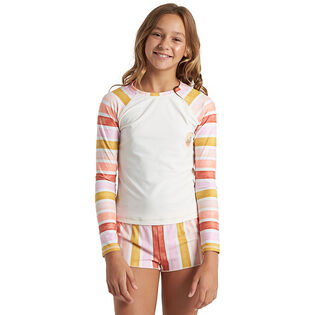 Junior Girls' [6-12] So Stoked Long Sleeve Rashguard