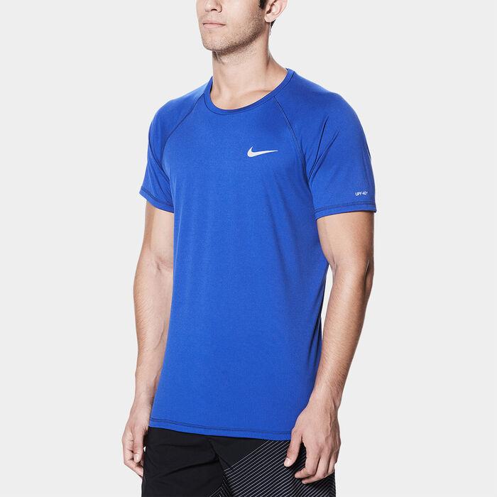 6bb89b4256 Men's Short Sleeve Hydroguard Rashguard | Nike | Sporting Life Online