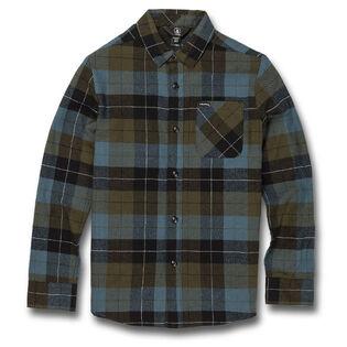 Junior Boys' [8-16] Caden Plaid Shirt