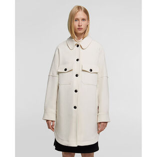 Women's Wool Chamois Coat