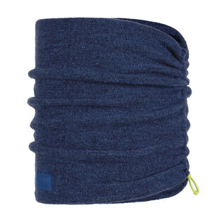 Olympian Blue Merino Wool Fleece Neck Warmer