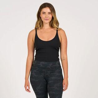 Women's Rib Crop Tank Top