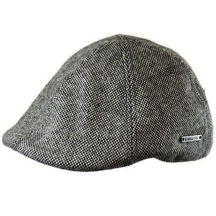 Men's Wool Blend Tweed Duckbill Ivy Cap