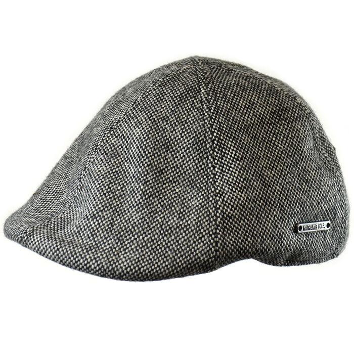 109787f0ae7 Men s Wool Blend Tweed Duckbill Ivy Cap