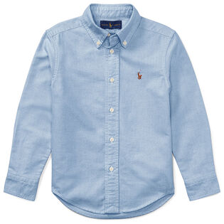 Boys' [5-7] Cotton Oxford Sport Shirt