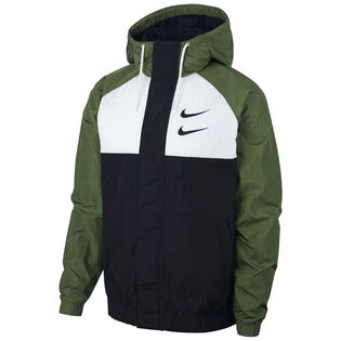 Men's Swoosh Woven Hooded Jacket