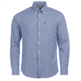 Men's Gingham 15 Tailored Shirt