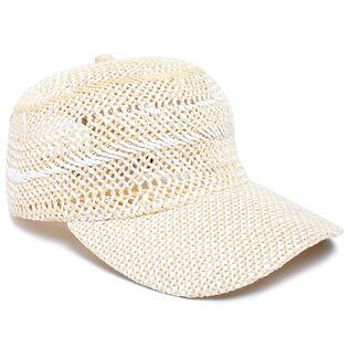 Women's Hand Woven Baseball Cap