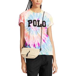 T-shirt tie-dye en coton Big Fit pour femmes