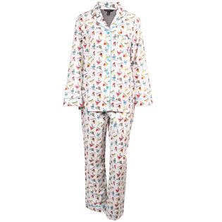 Women's Ski Birds Two-Piece Pajama Set