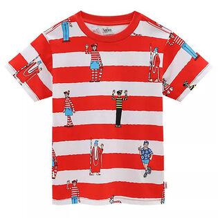 T-shirt Où est Charlie? Stripe pour garçons [3-6]