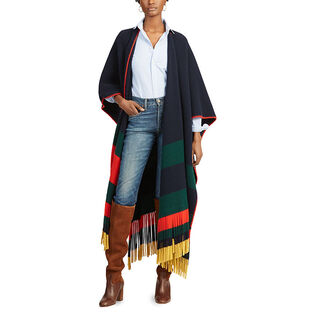 Women's Felted Wool Poncho