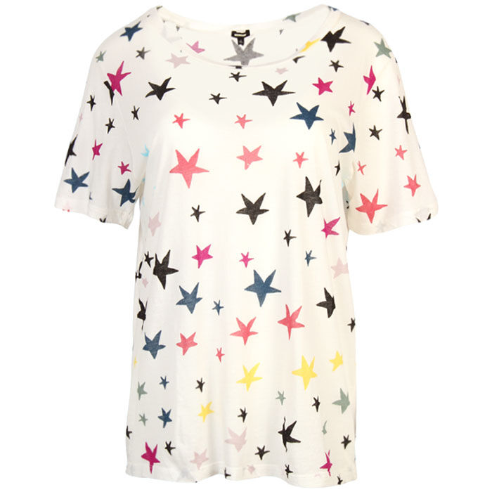 Women's Oversized Star Crew T-Shirt