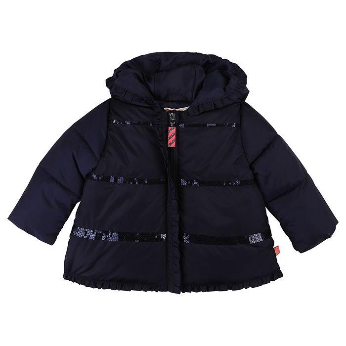 Baby Girls' [12-24M] Sequin Ruffle Jacket