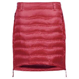 Jupe courte en duvet pour femmes