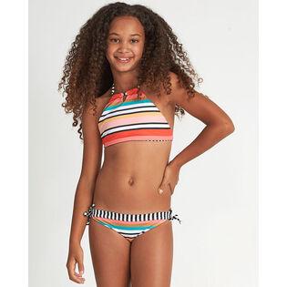 Junior Girls' [7-14] Rad Wave High Neck Two-Piece Bikini
