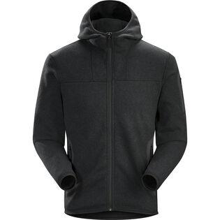 Manteau à capuchon Covert pour hommes