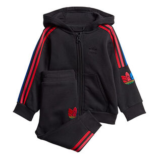 Baby Boys' [6M-3Y] Adicolor 3D Trefoil Hoodie Two-Piece Set