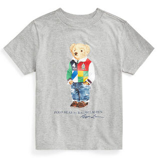 Boys' [5-7] Polo Bear Cotton Jersey T-Shirt