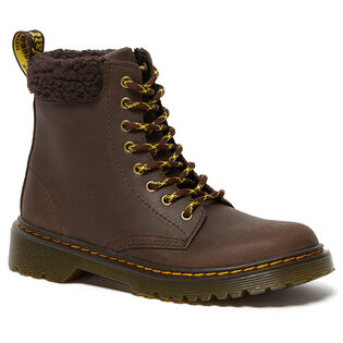 Kids' [11-4] 1460 Fleece-Lined Leather Boot