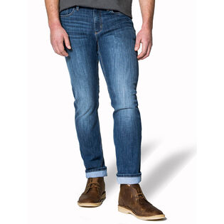 "Men's Performance Relaxed Worn Stone Jean (32"")"