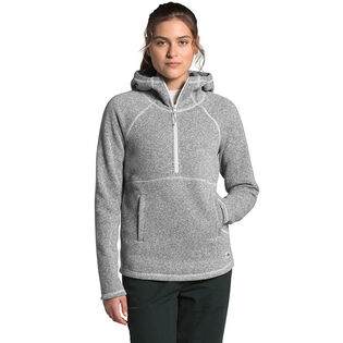 Women's Crescent Hooded Pullover Top