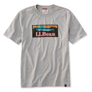 T-shirt illustré de performance pour hommes
