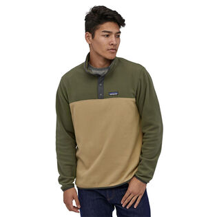 Men's Micro D® Snap-T® Fleece Pullover Top