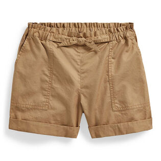 Junior Girls' [7-16] Cotton Twill Camp Short