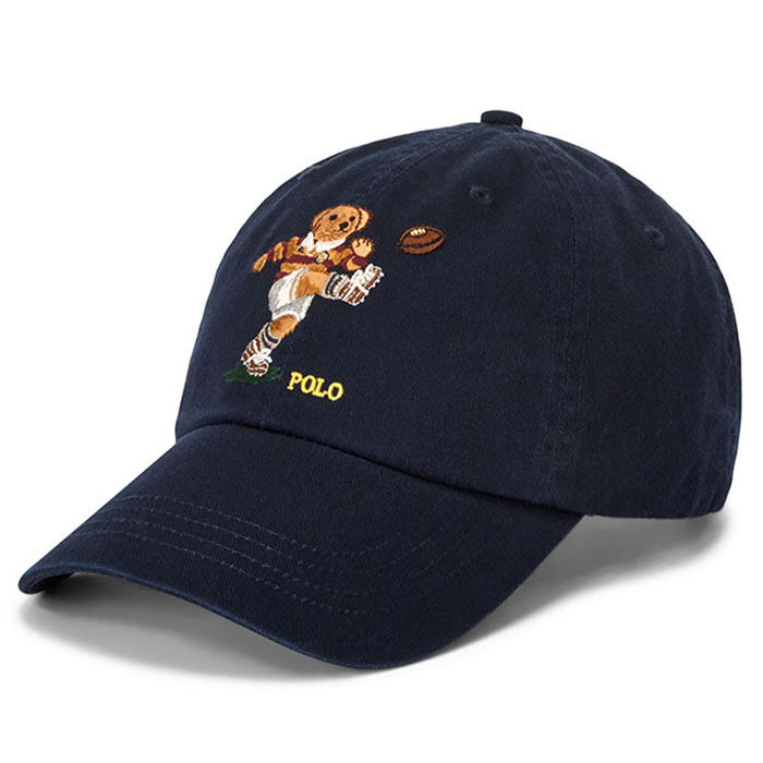 Casquette chino Rugby Bear unisexe