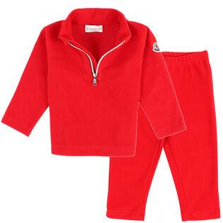 Baby Boys' [12M-3Y] Stretch Fleece Two-Piece Set