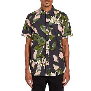 Men's Cut Out Floral Shirt
