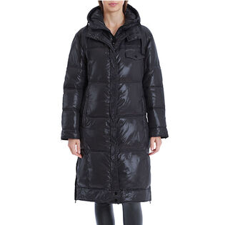Women's Knee-Length Puffer Coat