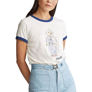 Women's Polo Bear Cotton T-Shirt