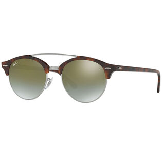 RB4346 Clubround Double Bridge Sunglasses