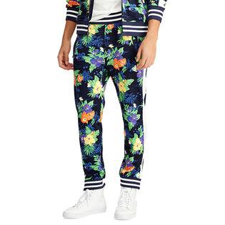 Pantalon de jogging à imprimé tropical pour hommes