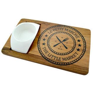 PLATEAU DE SERVICE EN BOIS LITTLE MARKET