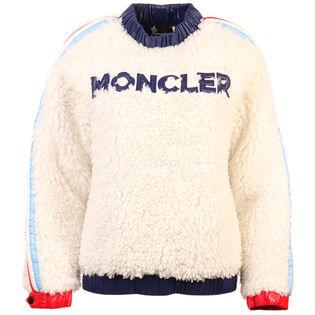 Women's Eco-Fur Fleece Sweatshirt