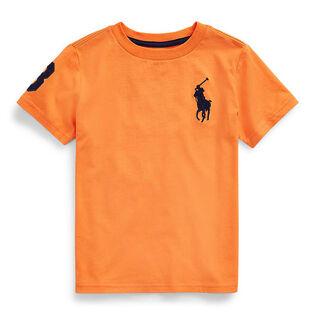 T-shirt en jersey de coton Big Pony pour garçons [5-7]