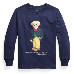 Boys' [2-4] Polo Bear Cotton Jersey T-Shirt