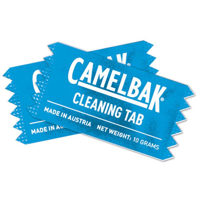 Comprimés de nettoyage pour résevoir + bouteille d'eau (paquet de 8)