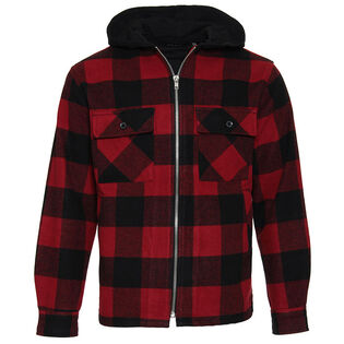 Men's Buffalo Check Hooded Jacket
