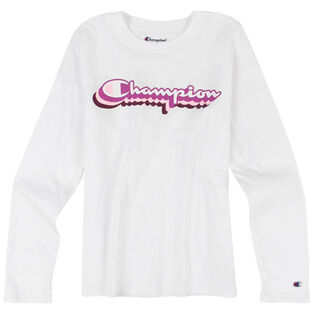 Junior Girls' [7-16] Retro Script T-Shirt