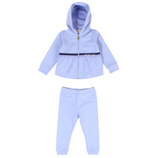 Baby Girls' [18M-3Y] French Terry Two-Piece Tracksuit