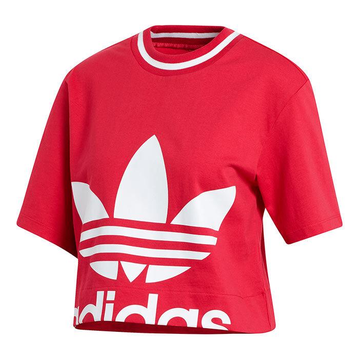 T-shirt court à logo pour femmes
